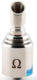 Omega atomizer